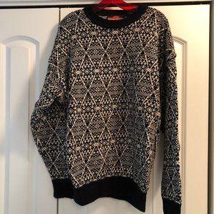 Men's XL Birdseye Casual Sweater
